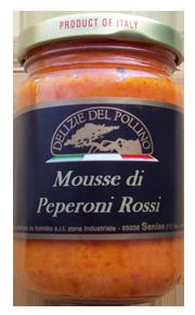 MOUSSE DI PEPERONI ROSSI