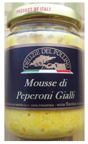 MOUSSE DI PEPERONI GIALLI